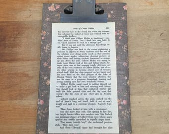 Clipboard with Anne of Green Gables pg 111