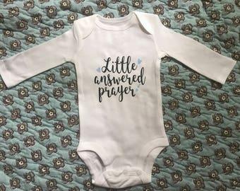 Little answered Prayer Onesie