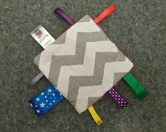 Sensory baby comforter Monterrori inspired sensory pillow