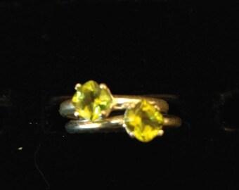 Green peridot 5mmx5mm