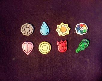 Hand made gym badges