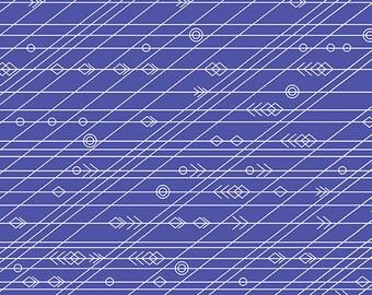Andover Fabrics - Diving Board by Alison Glass - Latitude in Admiral - Modern Maker Box