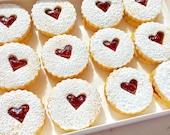Linzer cookies/rasberie linzer cookie/homemade/gourmet/Christmas cookies/cookies/home made cookies/home made/home made cookies