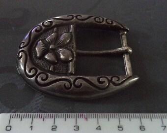 fancy new width 3 cm from silver metal belt buckle