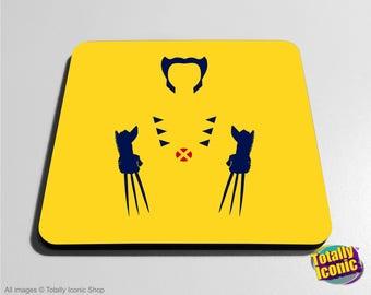 Wolverine X-Men Drinks Coaster Mat -
