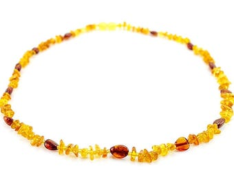 Natural baltic amber necklace for mother adult necklace woman necklace honey amber cognac amber necklace amber beads gift mothers day gift