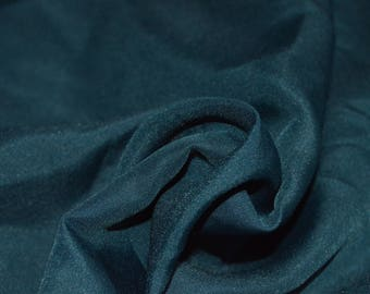"1.11 yard Teal Blue Lining Fabric 58"" Wide"