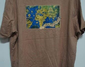 Vintage CHAPS Ralph Lauren T-shirt size. 2L