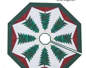 Trim the Tree - Christmas Tree Skirt Pattern