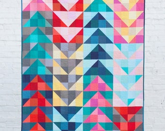 Scrappy Geese Quilt Pattern