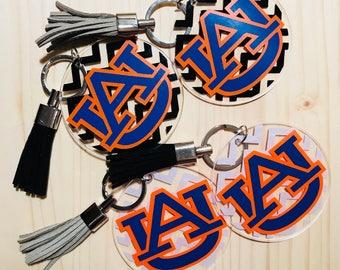 Auburn Keychain