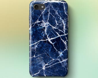 Blue and White Marble Phone Case iPhone 8 Case iPhone 8 PLUS Case iPhone X Case iPhone 10 Case iPhone 7 Case iPhone 7 plus Case Gift