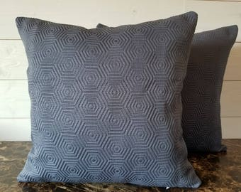 Grey Decorative Pillow Cover, Bedroom Decor, Sofa Pillows, Toss Pillow Sofa  Cushion,