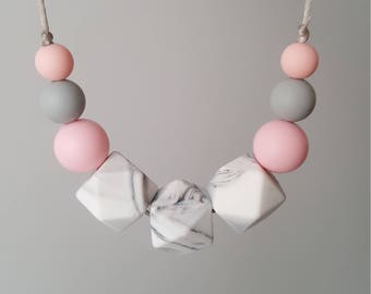 Silicon teether necklace