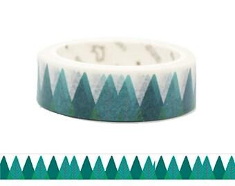 Green Trees Washi Tape