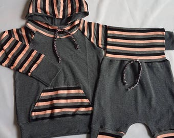 hoodie and shorts set