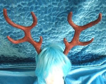 Large antler stag deer horn party adult antlers headdress headpiece