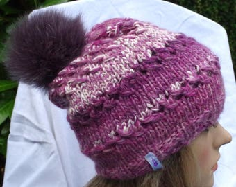 ECHTFELL Tweed cap with Pailettengarn