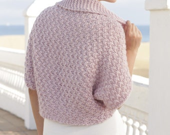 Color selection Shoulder warmer made of alpaca wool