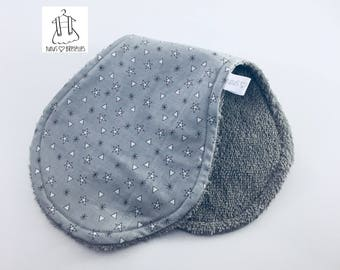 Shoulder - starry towel gray