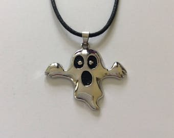 Halloween ghost necklace / ghost jewellery / Halloween necklace / Halloween jewellery / Halloween gift