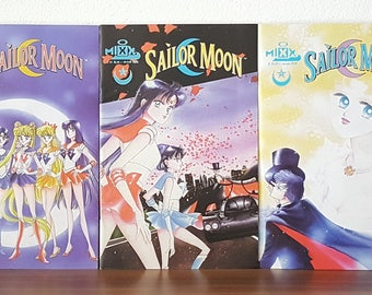 7 Sailor Moon Old Manga Comic Magazine