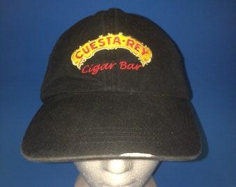 Vintage Cuesta Rey Cigars Strapback Hat Adjustable 1990s