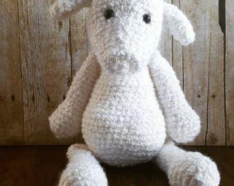 Sweet Sheep Super Soft and Fluffy Crochet Plush