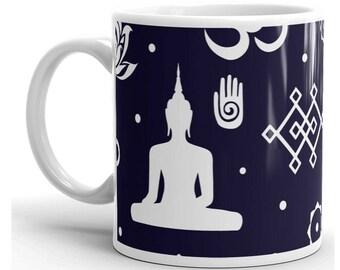 Buddha Mug, Buddha Coffee Mug, Buddha Cup, Buddhism Mug, Buddhism Coffee Mug, Buddhism Gifts, Buddha Gifts, Gifts For Buddhist, Buddha Gift