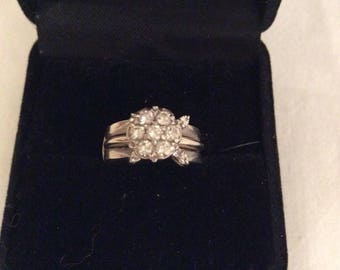 Antique Diamond wedding set