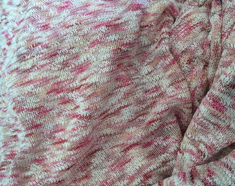 Width of about 100 cm cotton knit fabric