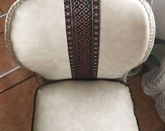 Vintage Napoleon 3 Fireside armchair