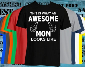 This is what an Awesome Dad looks like T-shirt we can change the lettering any color just ask  best price fast shipping