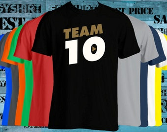 Team 10 Jake Paul JP t-shirt we can change the lettering any color just ask best price fast shipping