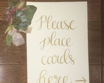 Calligraphy Signage