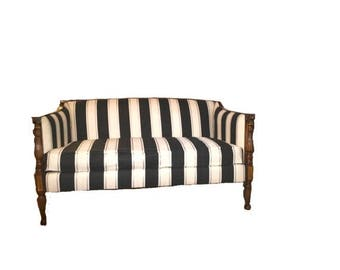 ON SALE Antique styled federal loveseat/settee/sofa