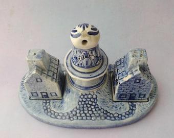 Delft Holland, salt and pepper set, Delft Blue