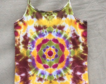 SALE Peace and Mandala Kids XL Tie Dye Tank