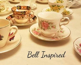 10 mismatch teacups, mismatched china, mismatched, high tea, tea party, madhatter tea party, teacups, joblot teacups, vintage crockery