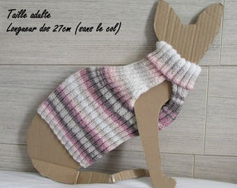 sweater for sphynx cat