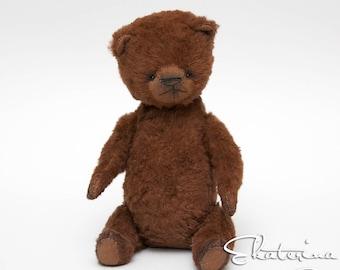 Vintage Teddy bear Bro handmade toy