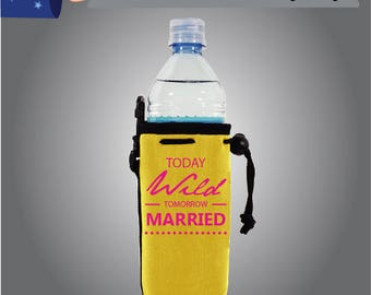 Today Wild Tomorrow Married Water Bottle Bachelorette (WB-Bachelorette01)