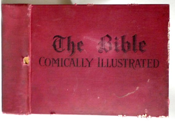Old Testament Stories Comically Illustrated 1892 Watson Heston - Hardcover HC - The Truth Seeker Company