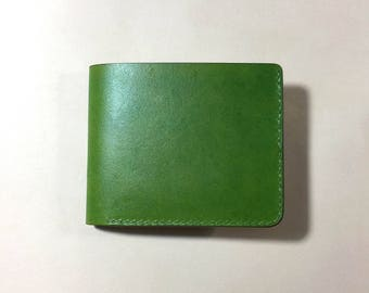 Wallet with 3 card holders & coin compartment with FREE leather keychain