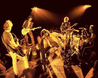 Aerosmith – Aerosmith Concert Poster - Aerosmith Art – Aerosmith Poster – Aerosmith Print – Steven Tyler - 8x10 - 11x14 - 16x20 (JS1680)
