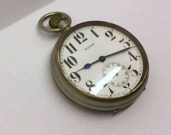 8 days travel pocket watch  #200