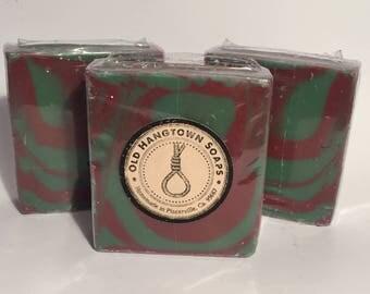 Cranberry Fig Soap, Cold Process Soap, Homemade Soap, Handmade Soap, Vegan Soap
