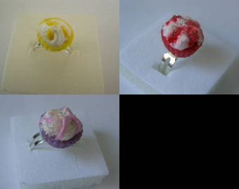 to choose from, kids ring, cupkace Fimo