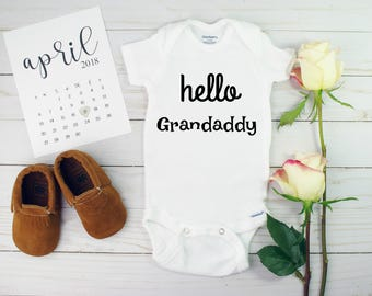 Hello Grandaddy Pregnancy Announcement