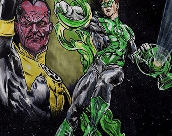 Green Lantern & Sinestro